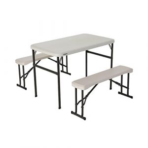Portable Folding Picnic Table and Benches