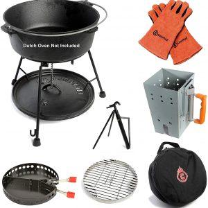 7-Piece Dutch Oven Tool Set