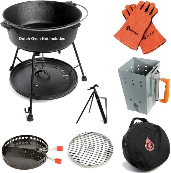 7-Piece Dutch Oven Tool Set