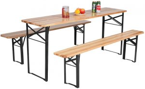 "70"" 3PC Folding Picnic Table"
