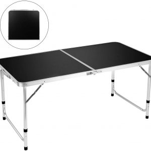 4' Aluminum Adjustable Lightweight Desk