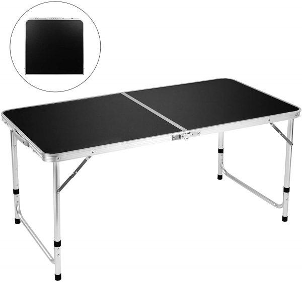 4' Aluminum Adjustable Lightweight Desk