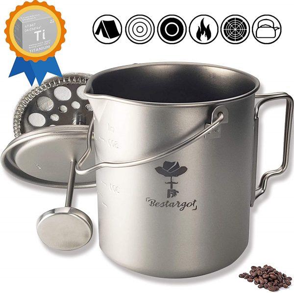Camping Coffee Cup Titanium Mug