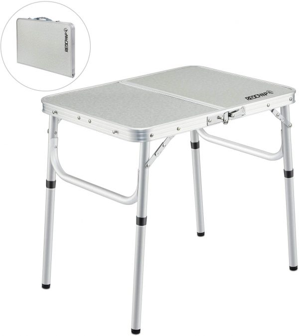 Portable Adjustable Folding Camping Table