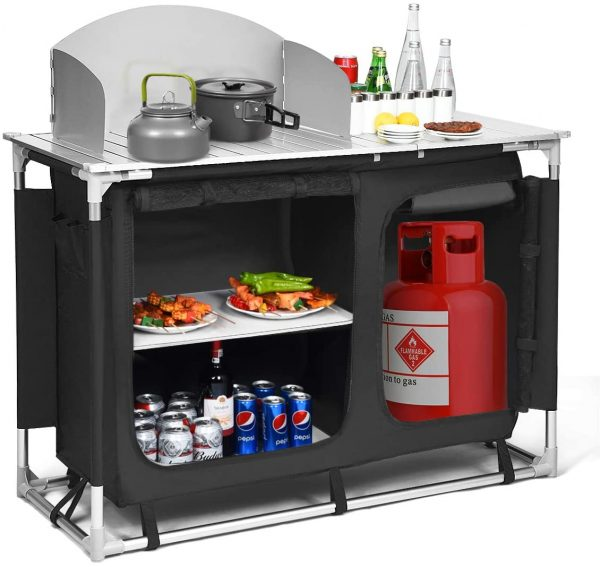 Portable Outdoor Multi Use Camp Kitchen