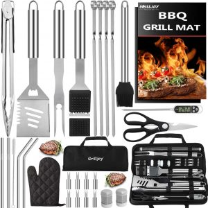 31PC Stainless Grill Tools Set