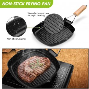Odoland Camping Fry/Grill Pan