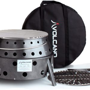 Collapsible Charcoal/Wood Stove Volcano 2 Grill
