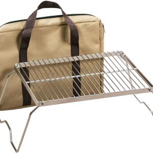 REDCAMP Large Folding Campfire Grill Grate