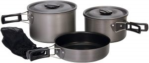 Multiple cooking pots for every meal