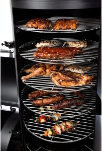 Grill and Smoker with lots of options