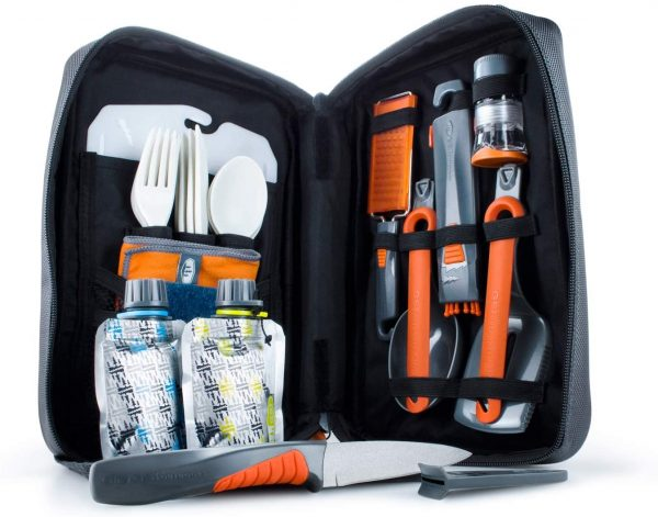 All you need to cook, prep, and eat with on your next outdoor adventure