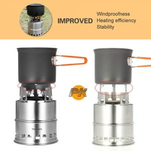 Versatile Backpacking Stove