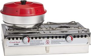Try baking on a stove with this oven