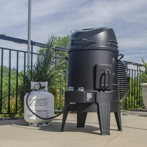Smoke, Roast, and Grill all in one