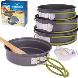You won't need another set of cookware with these